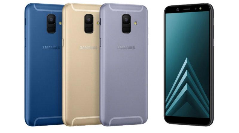Samsung Galaxy A6 | Фото: Samsung
