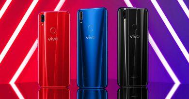 Новый смартфон Vivo Z1 получил яркий дизайн
