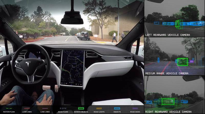 Автопилот Tesla | Фото: autoweek.com