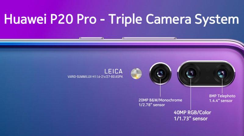 Huawei P20 Pro | Фото: mrfix.com