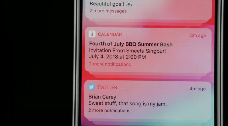 Уведомления в iOS 12 | Фото: The Verge