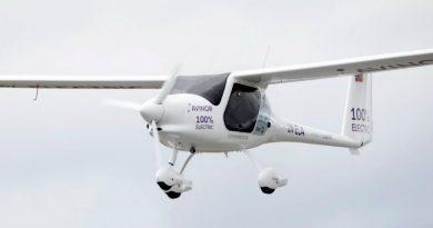 В Норвегии испытали электрический самолет