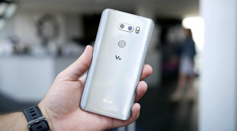 LG V30 | Фото: Techntium