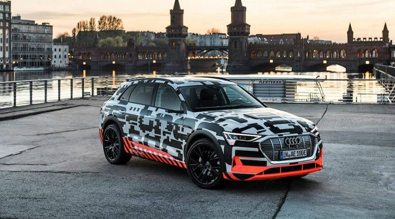 Audi E-trron | Фото: Audi