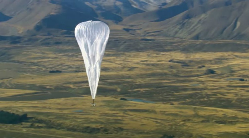 Project Loon | Фото: BBC