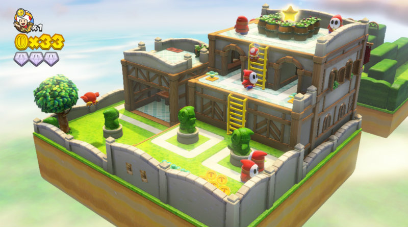 Captain Toad: Treasure Tracker | Фото: chudo.tech
