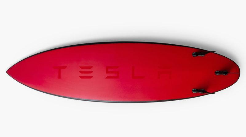 Доска для серфинга Tesla | Фото: Tesla