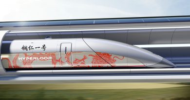 Тестовый Hyperloop построят в Китае