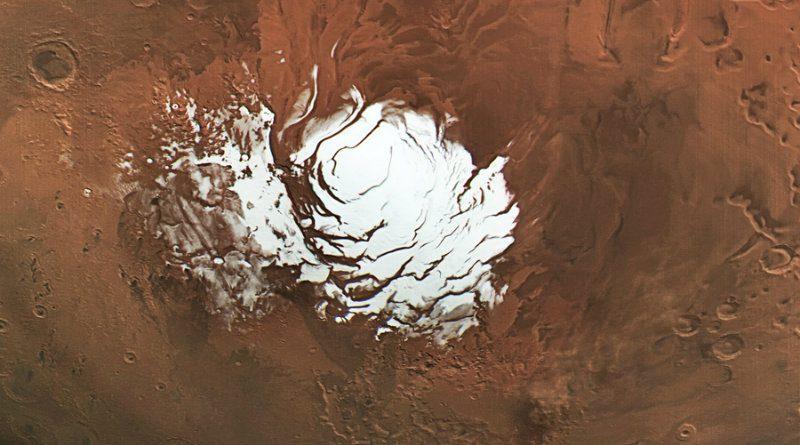 Лед на Марсе | Фото: zelenyikot