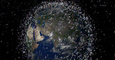 Космический мусор   Фото: 3dnews.ru