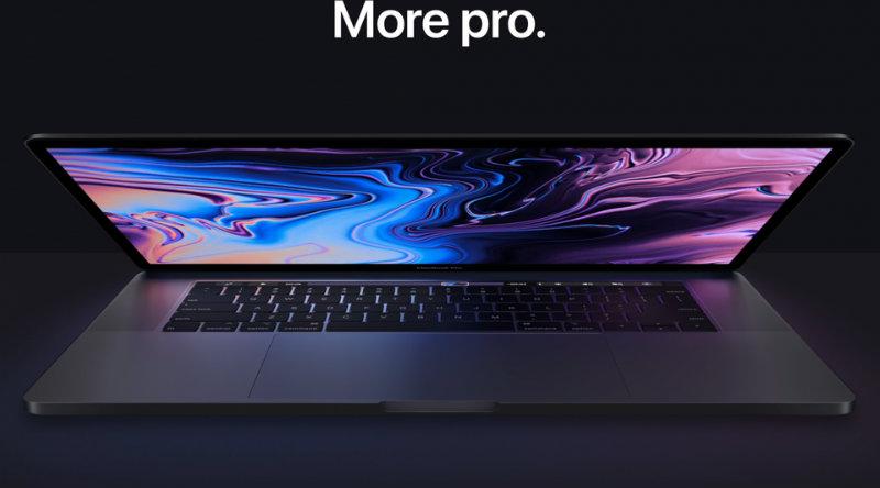 MacBook Pro 2018 | Фото: Apple