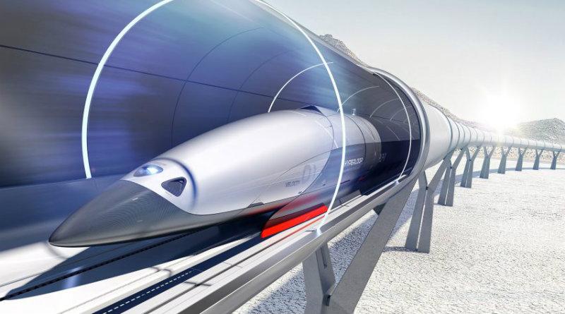 Hyperloop | Фото: dezeen
