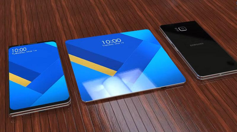 Концепт Samsung Galaxy X | Фото: ibtimes