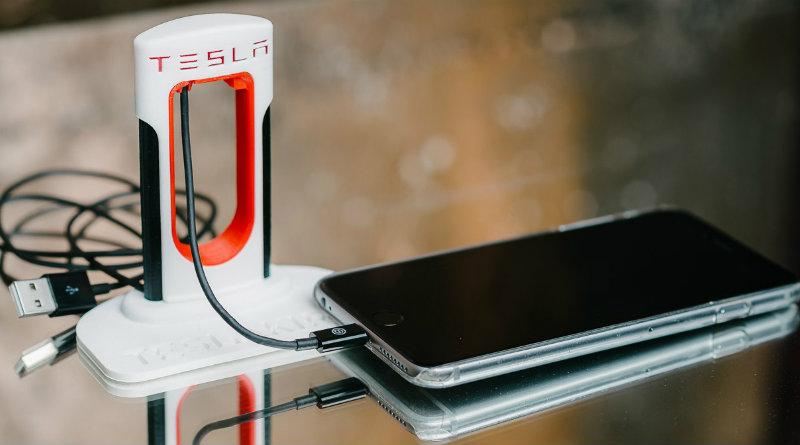 Зарядка Tesla | Фото: industryta