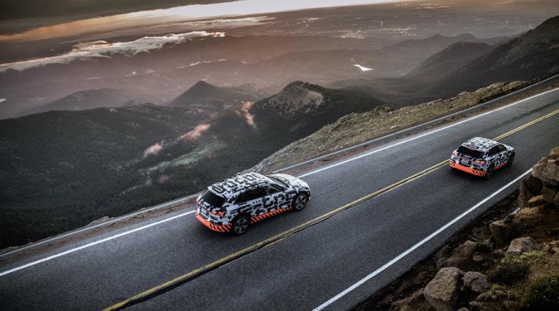 Audi E-tron | Фото: motor