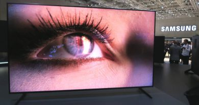 8K-телевизор Samsung | Фото: NT Interia