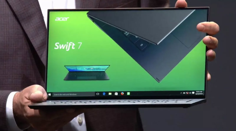 Acer Swift 7 | Фото: The Verge