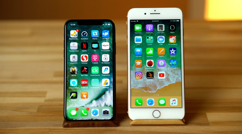 iPhone X и iPhone 8 | Фото: blogdroidseattle