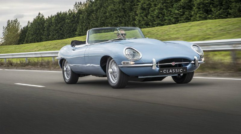 Jaguar E-Type | Фото: The Verge