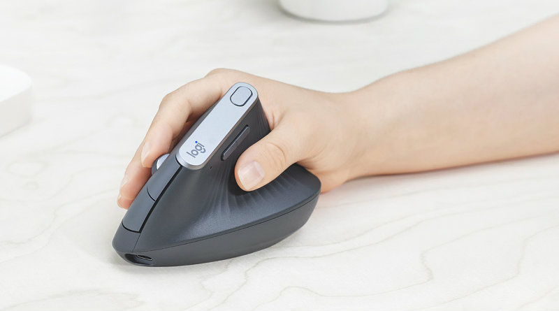 Logitech MX Vertical | Фото: Logitech