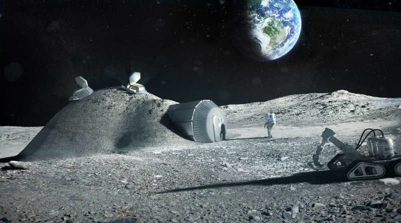 Лунная станция | Фото: esa.int
