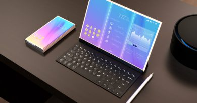 Концепт гибкиого смартфона Samsung | Фото: wccftech