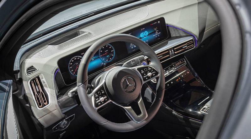 Mercedes-Benz EQC | Фото: Mercedes