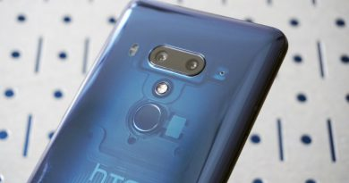 HTC U12+   Фото: Mashable