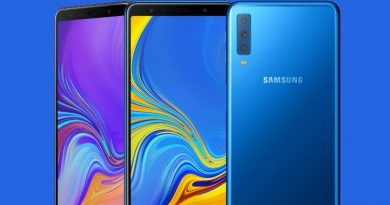 Samsung Galaxy A7 оснастили тройной камерой