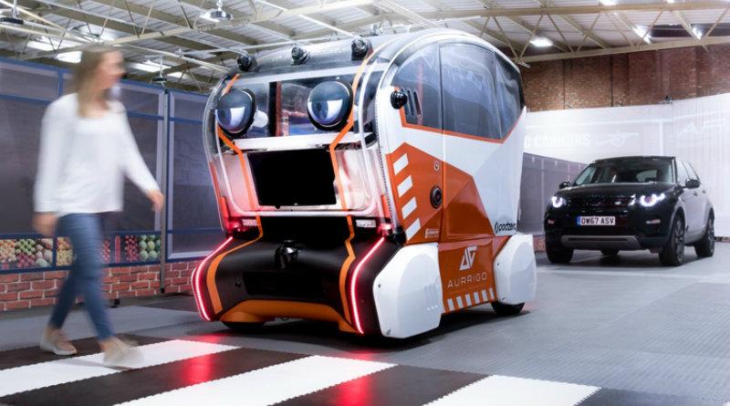 Робомобиль с глазами | Фото: Jaguar