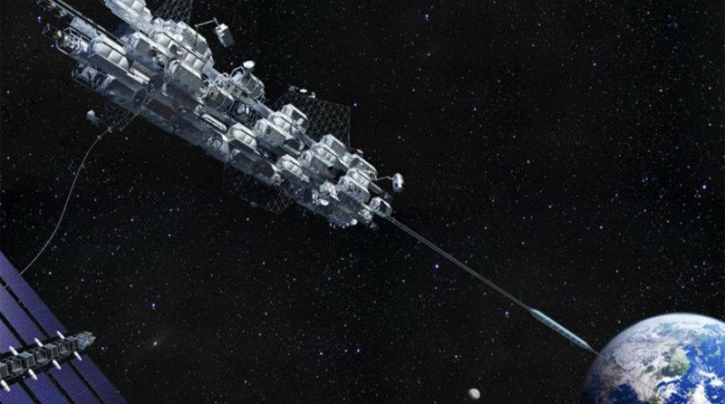 Космический лифт | Фото: CNET