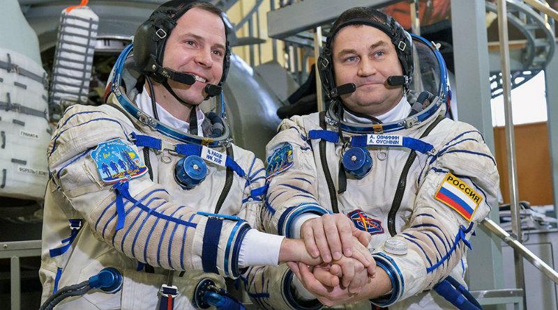 Алексей Овчинин и астронавт НАСА Талер Хейг | Фото: https://rtvi.com