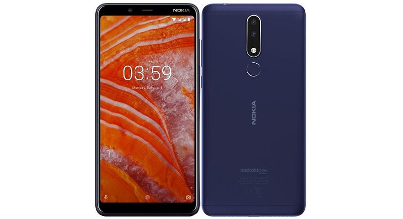Nokia 3.1 Plus   Фото: HMD Global