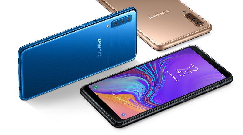 Samsung Galaxy A7 (2018) | Фото: Samsung