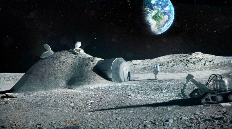 База на Луне | Фото: yimg