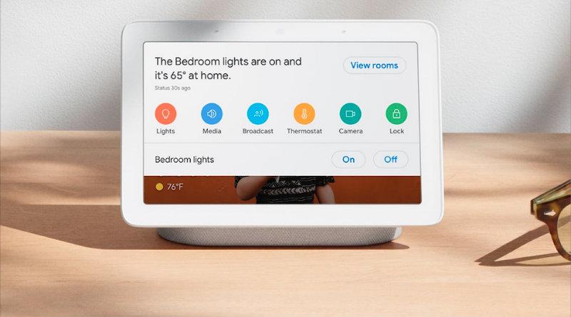 Google Home Hub | Фото: Google