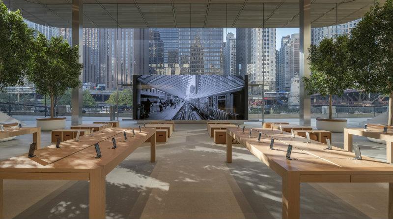 Apple Store в Чикаго | Фото: archdaily.com.br