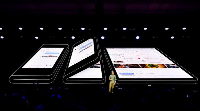 Складной Samsung | Фото: kinja-img.com