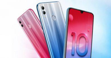 Представлен недорогой смартфон Honor 10 Lite