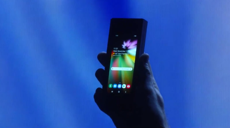 Складной Samsung Galaxy