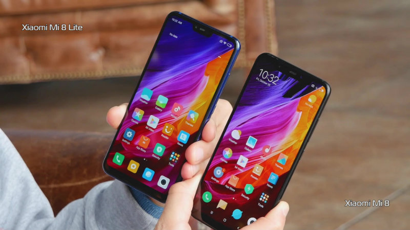 Xiaomi Mi 8 Lite и Xiaomi Mi 8 | Фото: chudo.tech