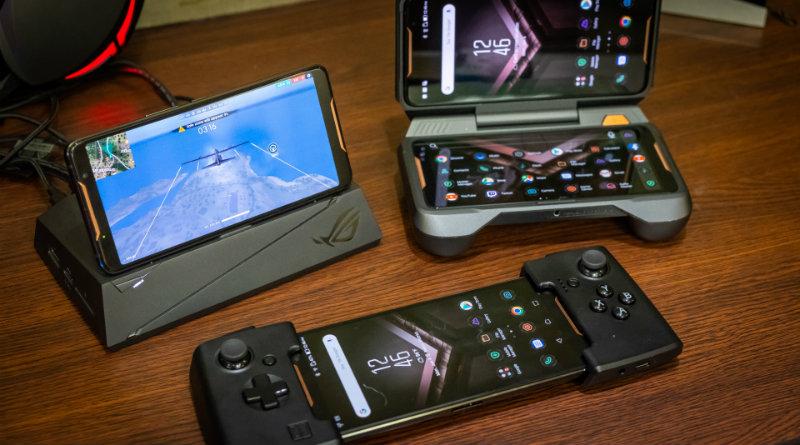 Asus ROG Phone | Фото: idgesg.ne