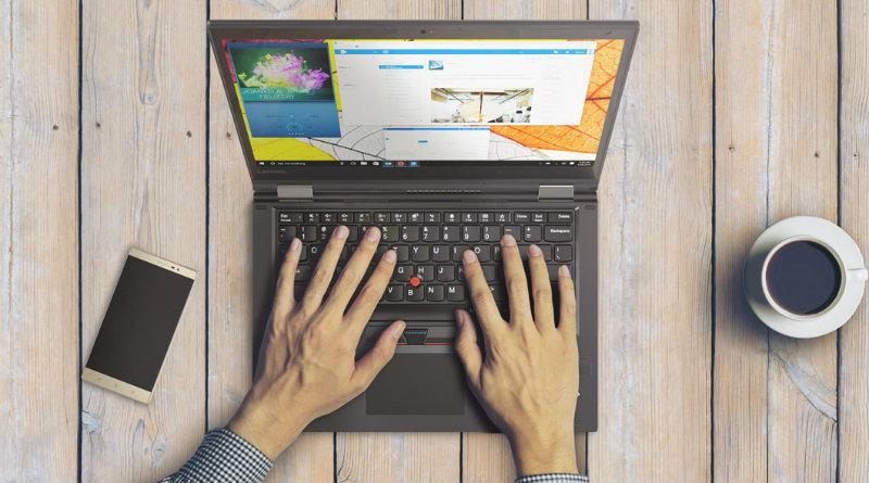 Ноутбук Lenovo | Фото: lenovo