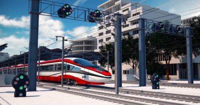 В РЖД создали концепт скоростного поезда