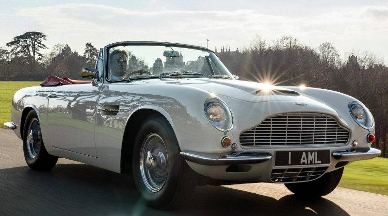 Электрический Aston Martin | Фото: netcarshow.com