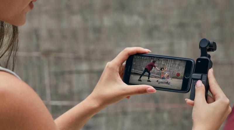 DJI Osmo Pocket | Фото: ymcinema.com