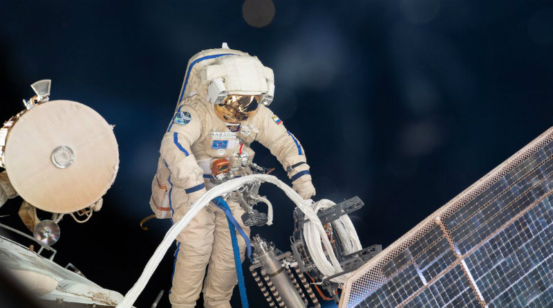 Российский космонавт   Фото: https://brktech.net