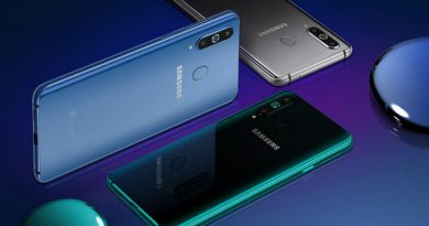 Samsung Galaxy A8s получил отверстие в экране