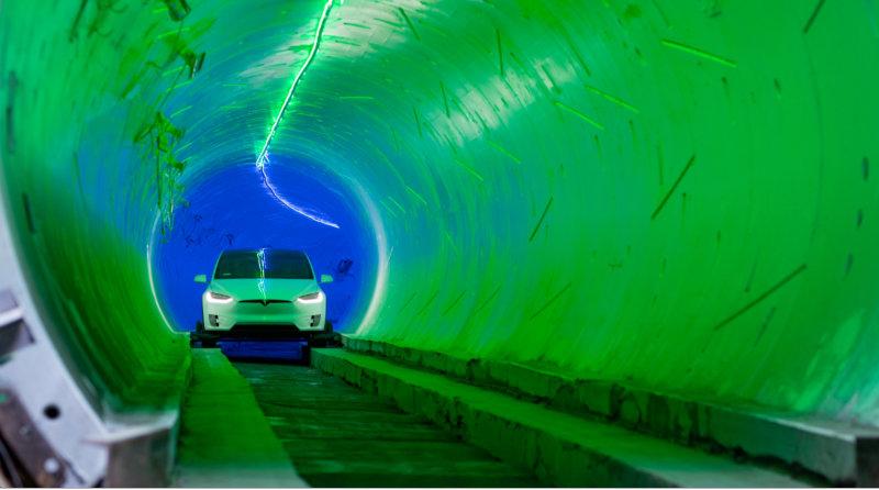 Тоннель Boring Company | Фото: CNET