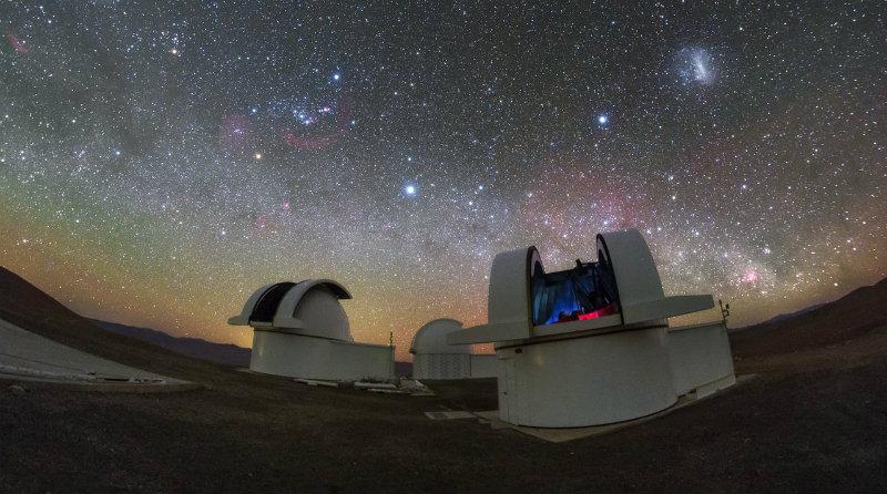 Телескопы SPECULOOS   Фото: ESO
